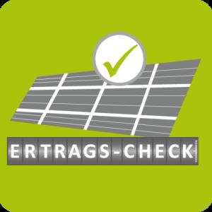 ertrags-check symbol